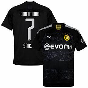 Puma Borussia Dortmund Away Sancho 7 Jersey 2019-2020