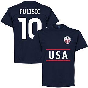 USA Pulisic Team Tee - Navy