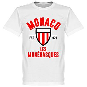 Monaco Established Tee - White