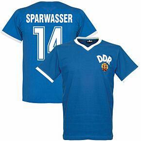 1974 DDR WC Home Retro Shirt + Sparwasser 14