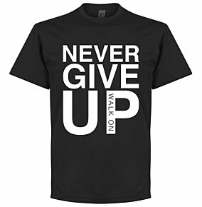 Never Give Up Liverpool Tee - Black