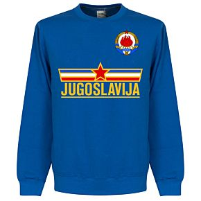 Yugoslavia Team Sweatshirt -  Royal