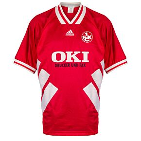 adidas FC Kaiserslauten 1993-1995 Home Shirt - USED Condition (Great) - Size Large