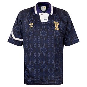 Umbro Scotland 1992-1993 Home Shirt - USED Condition (Good) - Size L