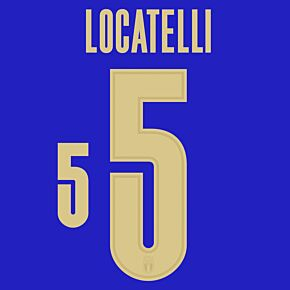 Locatelli 5 (Official Printing) - 20-21 Italy Home/3rd