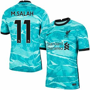 20-21 Liverpool Away Shirt + M. Salah 11 (Premier League)