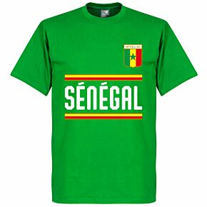 Senegal Team Tee - Green