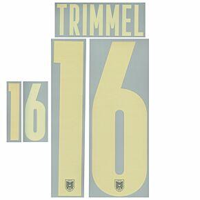 Trimmel 16 (Official Printing) - 21-22 Austria Away