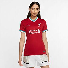 20-21 Liverpool Womens Home Shirt