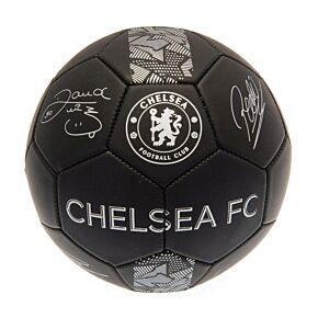Chelsea Signature Skills Ball -Black/Silver (Size 1)