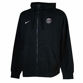 21-22 PSG NSW Club FZ Hoodie - Black/Pink