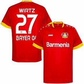 20-21 Bayer Leverkusen Away Shirt + Wirtz 27