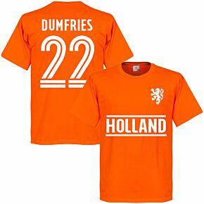 Holland Dumfries 22 Team KIDS T-shirt - Orange