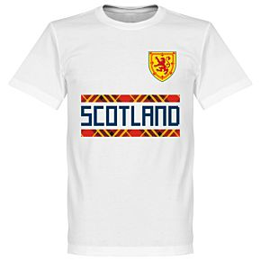 Scotland Team Tee - White