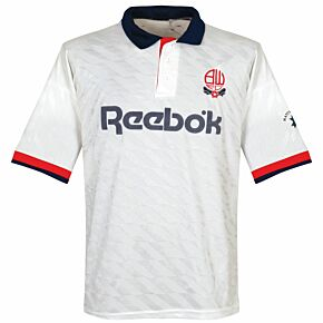 Matchwinner Bolton Wanderers 1990-1993 Home Shirt - USED Condition (Great) - Size XL