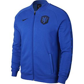 20-21 Holland GFA Fleece Track Jacket - Blue