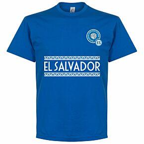 El Salvador Team Tee - Royal