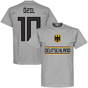 Germany Özil 10 Team Tee - Grey