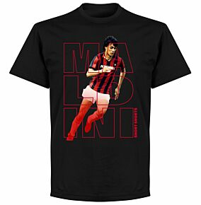 Maldini Short Shorts T-shirt - Black