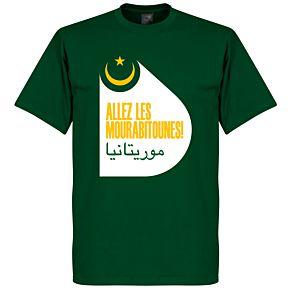 Mauritania Tee - Dark Green