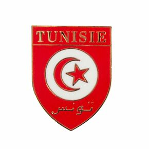 Tunisia Enamel Pin Badge