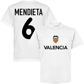 Valencia Mendieta 6 Team T-shirt - White