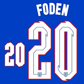 Foden 20 (Official Printing) - 20-21 England Away
