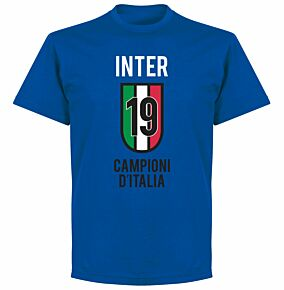 Inter Scudetto 19 T-shirt - Royal