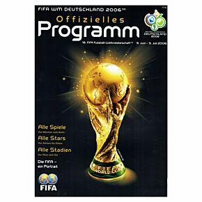 2006 World Cup Official Program (German)