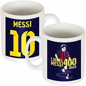 Messi Record 400 Goals Mug