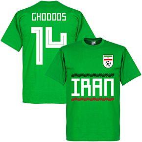 Iran Ghoddos 15 Team Tee - Green