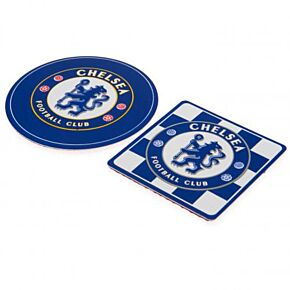 Chelsea Multi Surface Signs (Pack of 2 - 9x9cm & 7x7cm)