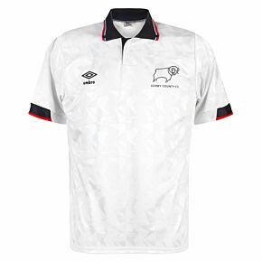Umbro Derby County 1990-1991 Home Shirt - USED Condition (Great) - Size M