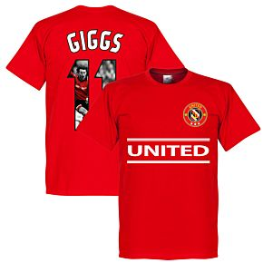 United Giggs 11 Gallery Team Tee - Red