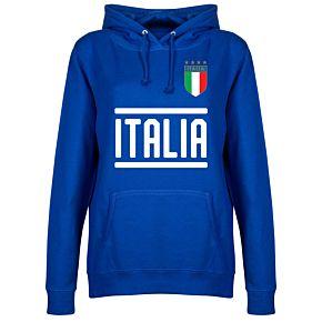 Italy Team Womens Hoodie - Royal