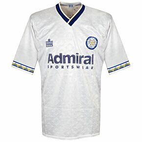Admiral Leeds United 1992-1993 Home Shirt - USED Condition (Great) - Size M