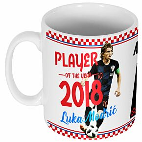 Modric 10 Player of the Year 2018 Mug