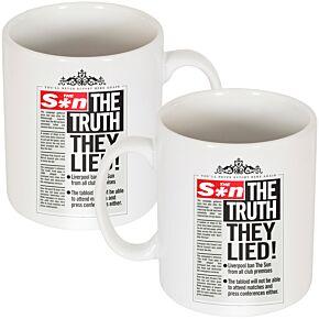 The Truth, They Lied! Mug