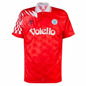 Umbro SSC Napoli 1991-1993 3rd Shirt - USED Condition (Great) - Size L