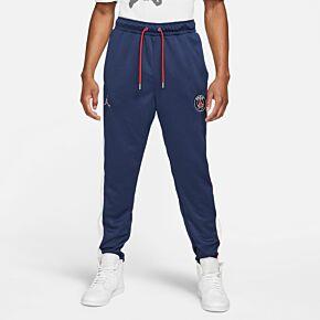 21-22 PSG x Jordan Suit Track Pants - Navy/White