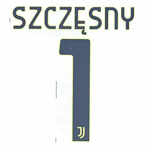 Szczesny 1 (Official Printing) - 20-21 Juventus Home GK