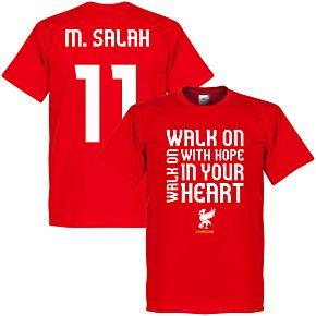 Liverpool Salah Walk-on Tee - Red