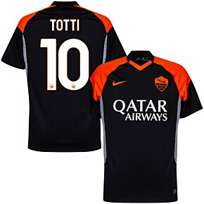 20-21 AS Roma 3rd Shirt + Totti 10