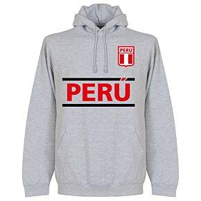 Peru Team Hoodie - Grey