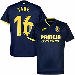 20-21 Villarreal Away Shirt + Take 16 (Official Printing)