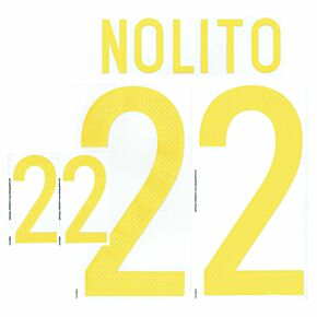 Asensio 20 (Official Printing) - Spain Home Official Name & Number 2016 / 2017