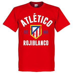 Atletico Madrid Established Tee - Red