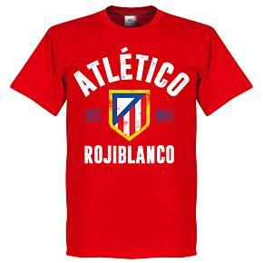 Atletico Madrid Established Tee - Red