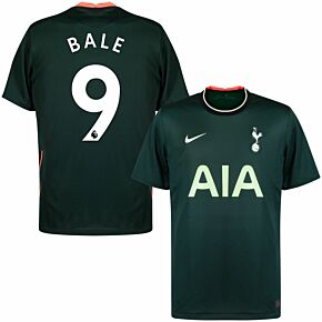 20-21 Tottenham Away Shirt + Bale 9 (Premier League)