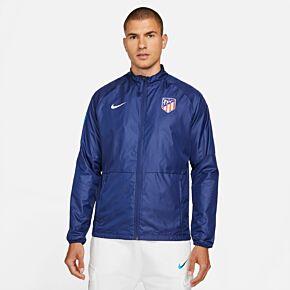 21-22 Atletico Madrid Academy AWF Jacket - Navy